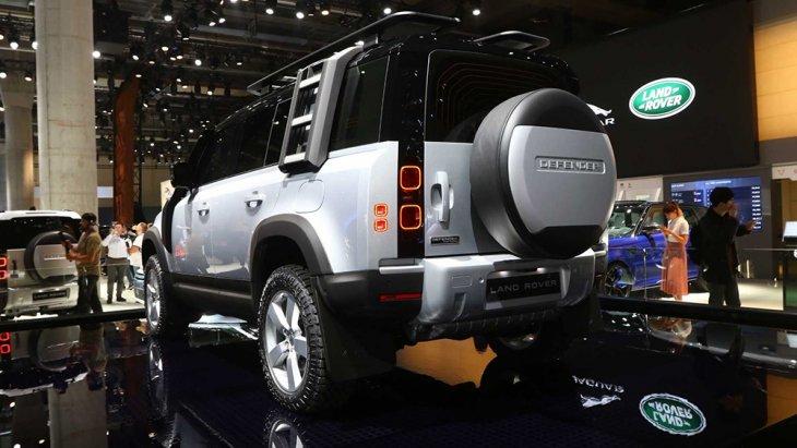ดีไซน์ด้านท้าย ของAll-new Land Rover Defender 2020