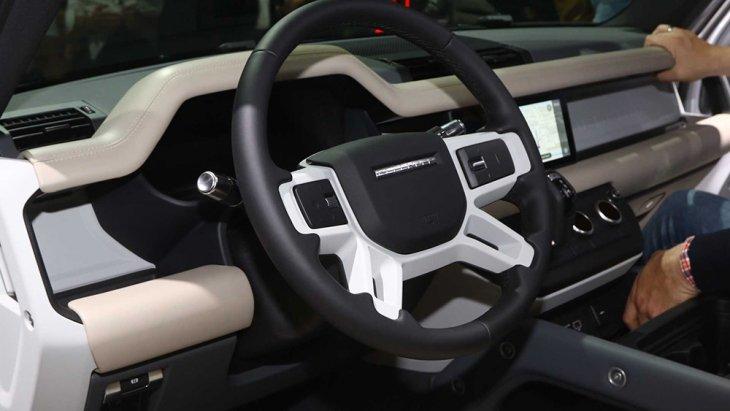 ภายในของ All-new Land Rover Defender 2020
