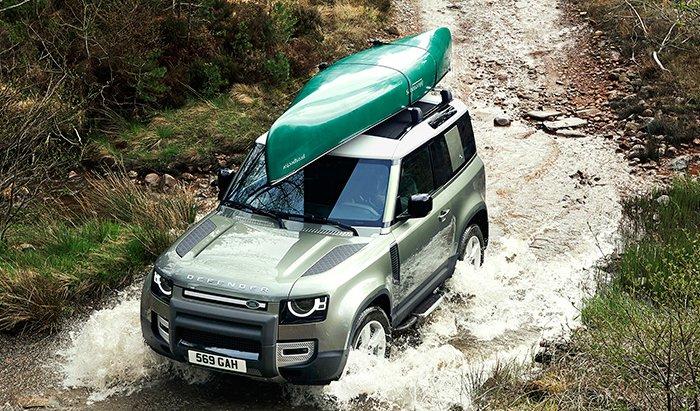 Land Rover Defender 2020 จำหน่าย 6  รุ่นย่อย ในราคาเริ่มต้นกับ รุ่น P300 Standard ที่ ราคา 49,900 ดอลลาร์