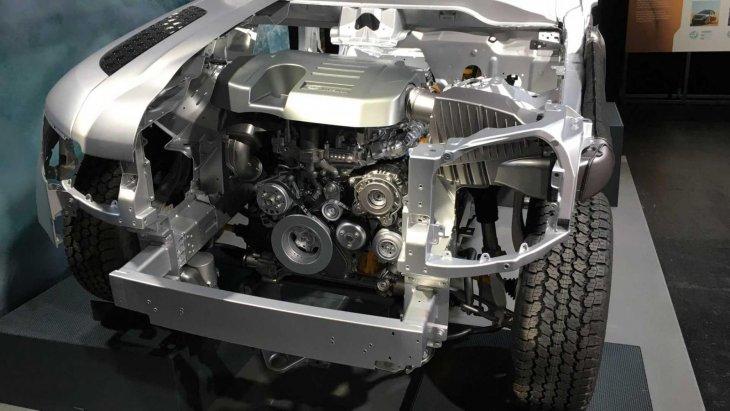 เครื่องยนต์ ดีเซล 2.0 ลิตร เทอร์โบ 197 hp และ 237 hp และ เบนซิน 2.0 ลิตร เทอร์โบ 296 hp และ V6 3.0 ลิตร hybrid 394 hp ระบบส่งกำลัง 8AT
