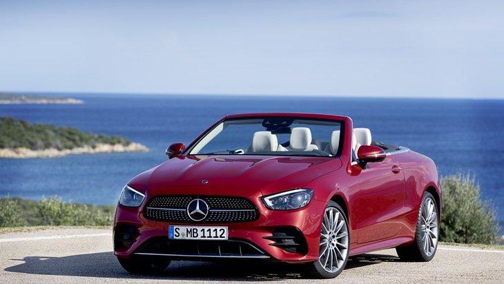 Mercedes-Benz E-Class 2020 ใหม่ ปรับโฉมทั้งคูเป้และเปิดประทุน