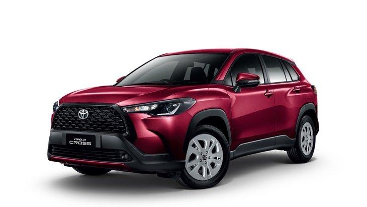 ราคาและตารางผ่อน ดาวน์ Totoya Corolla CROSS 2020