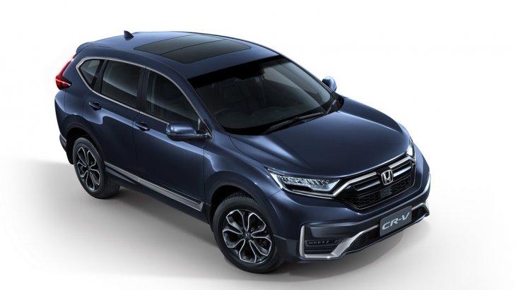 Honda CRV 2020 ปรับโฉมใหม่ ปลอดภัยยิ่งกว่าเดิม