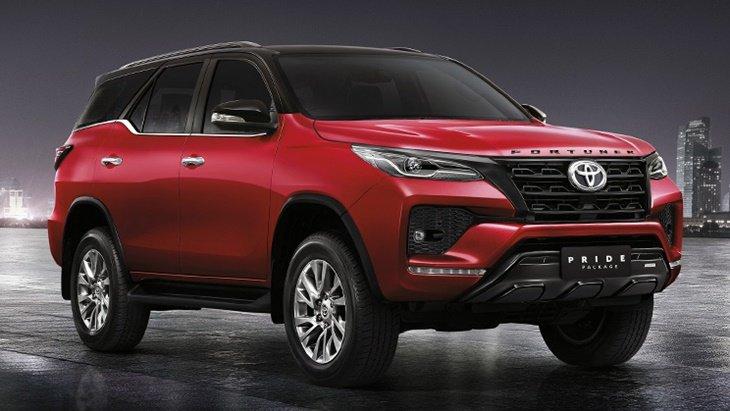 Toyota Fortuner 2021 เพิ่มชุดแต่ง Pride Package II ให้ฟรี สำหรับรุ่นมาตรฐาน