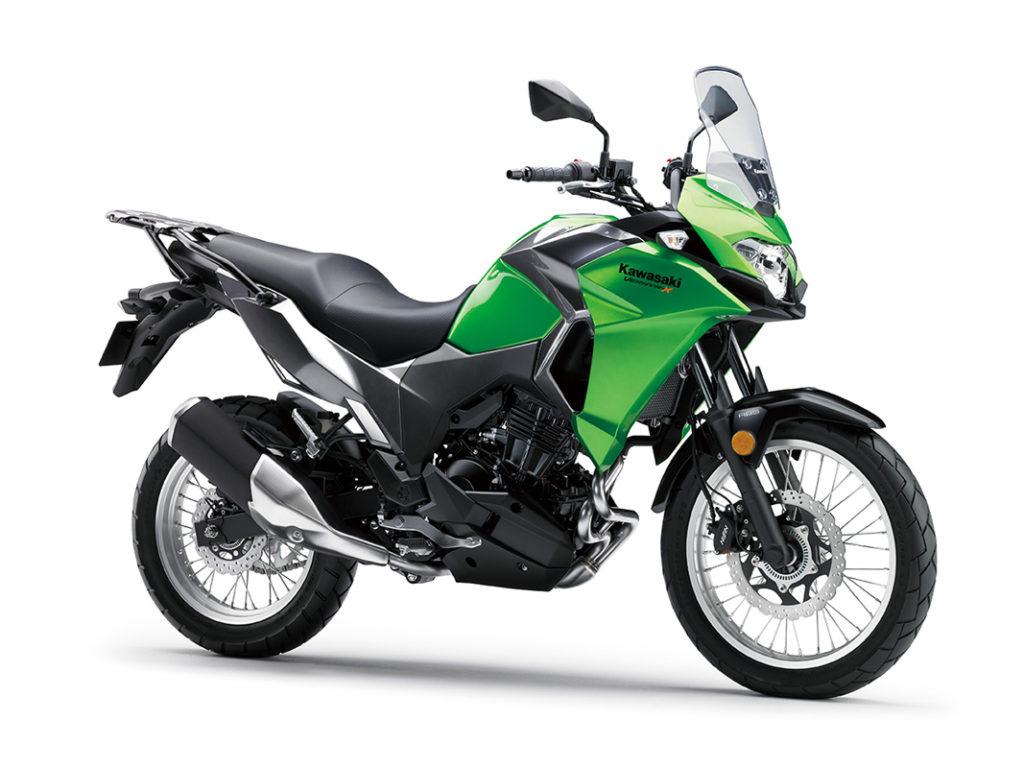 Kawasaki Versys-X 300 สีเขียว